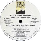 Welcome Back Brother James