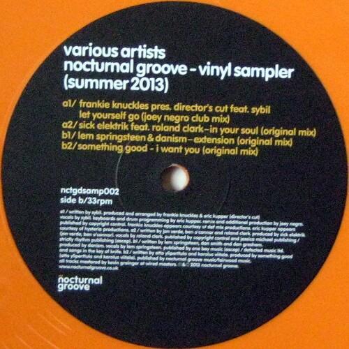 Nocturnal Groove: Vinyl Sampler (Summer 2013)