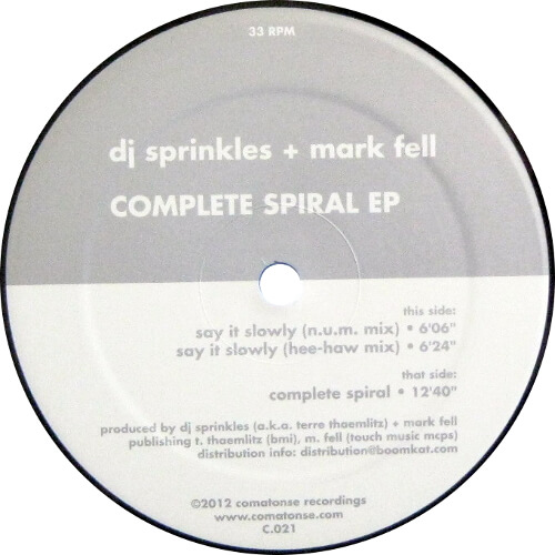 Complete Spiral EP