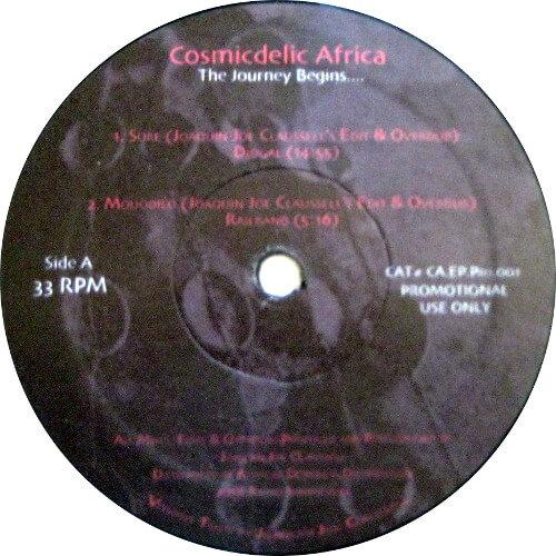 Cosmicdelic Africa: The Journey Begins....
