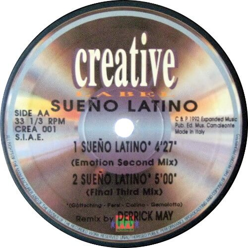 Sueño Latino (Derrick May Remixes)