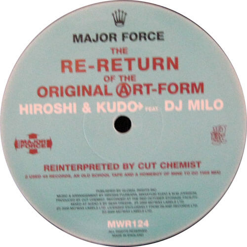 The Re-Return Of The Original Art-Form