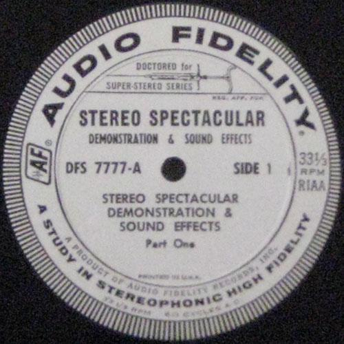 Stereo Spectacular Demonstration & Sound Effects