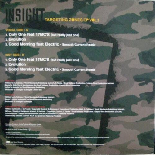 Targeting Zones EP Vol.1