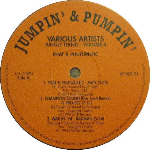 Jungle Tekno 6 - Phat & Phuturistic