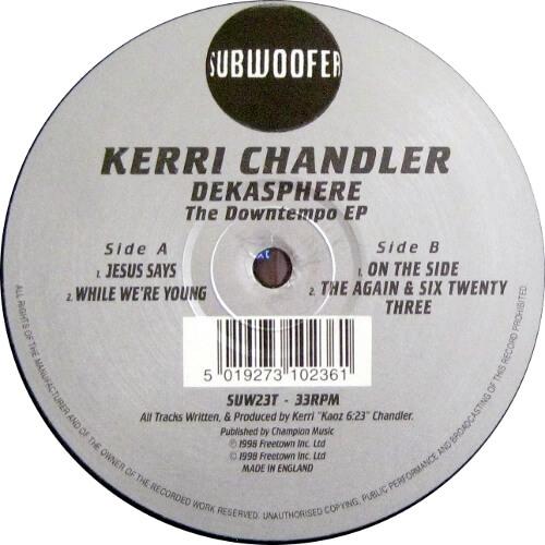Dekasphere - The Downtempo EP