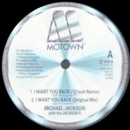 I Want You Back '88 Remix