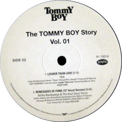 The Tommy Boy Story Vol. 01