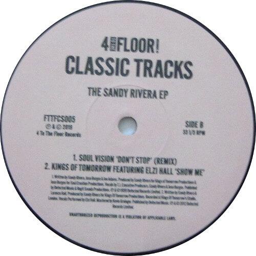 Classic Tracks - The Sandy Rivera EP