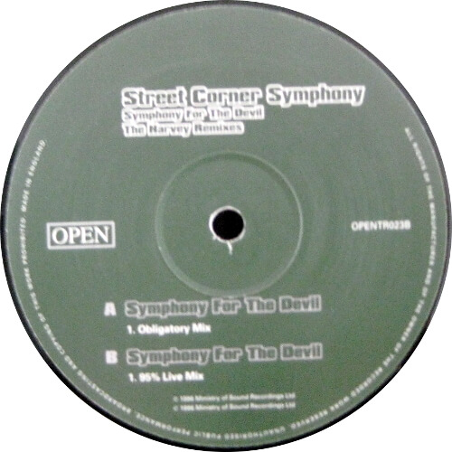 Symphony For The Devil (The Harvey Remixes)