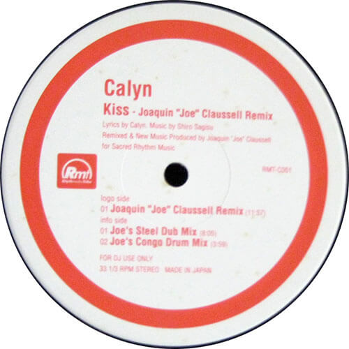 "Kiss (Joaquin ""Joe"" Claussell Remix)"