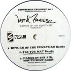 "Return Of The Funkyman ""Remixes"""