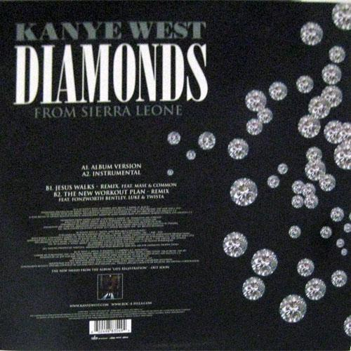 diamonds are forever from sierra leone Official kanye west diamonds from sierra leone lyrics at cd universe diamonds are forever they won't leave in the night i've no fear that they might desert me.