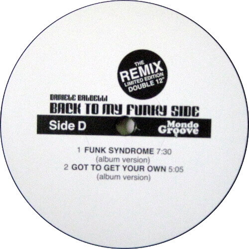 Back To My Funky Side - The Remix