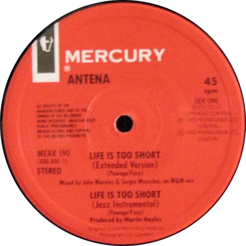 Life Is Too Short (Extended Version)
